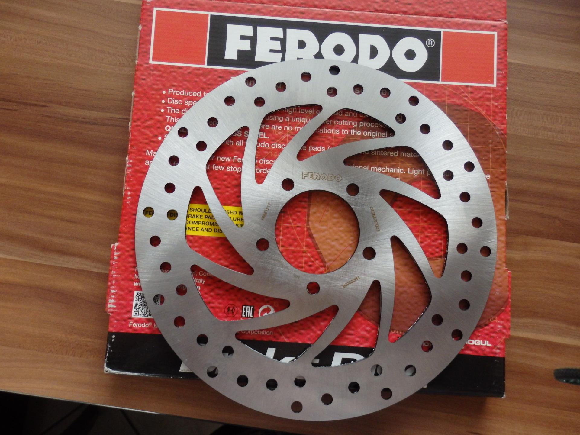 APRILIA SPORTCITY Féktárcsa FERODO (2004-2007) - 16290 Ft
