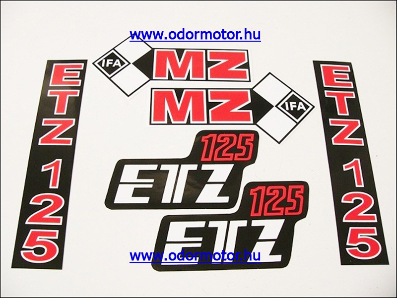 ETZ 125 MATRICA KÉSZLET - 590 Ft