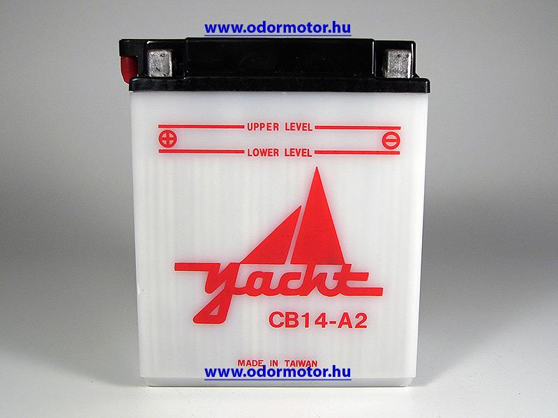 HONDA AKKUMULÁTOR VT 800 C YB14-B2 - 16490 Ft