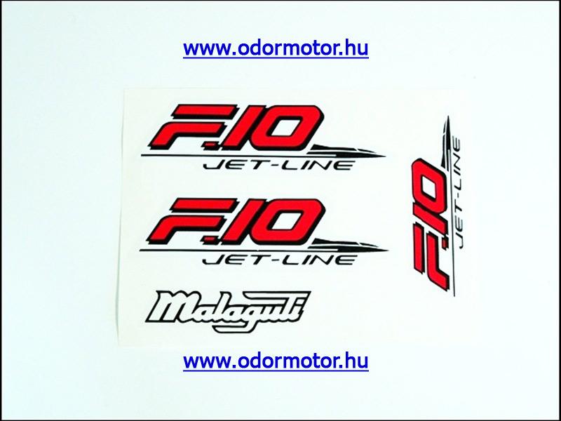 MALAGUTI F10 MATRICA KÉSZLET F10 /PIROS-FEKETE/ - 2390 Ft