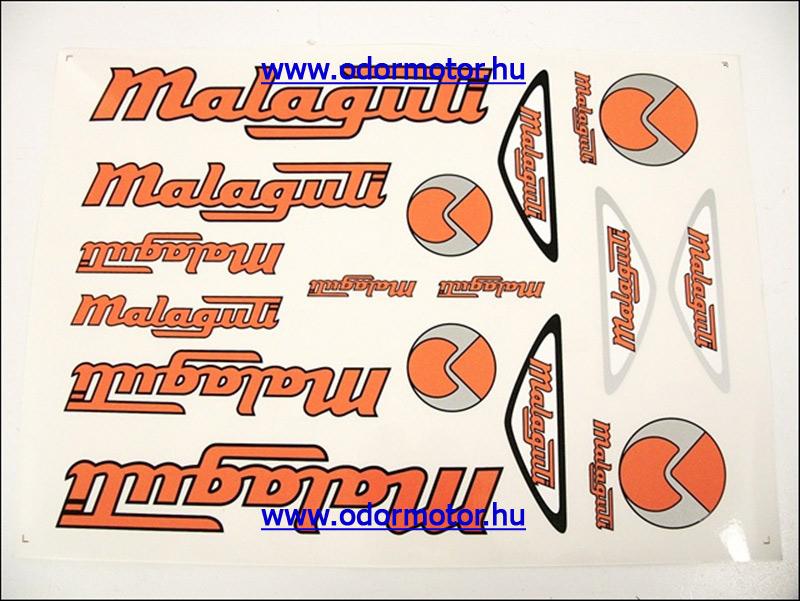 MALAGUTI UNIVERZÁLIS MATRICA KÉSZLET MALAGUTI NARANCS-EZÜST - 1290 Ft