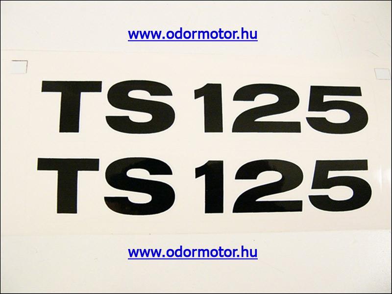 MZ-TS 125 MATRICA DEKLIRE PÁR - 1690 Ft