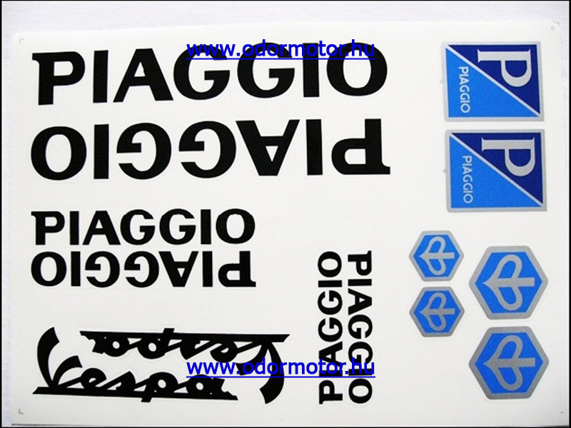 PIAGGIO UNIVERZÁLIS MATRICA KÉSZLET PIAGGIO FEKETE - 1190 Ft