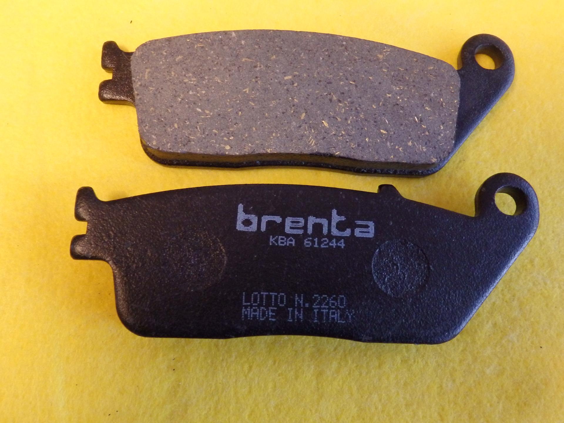 HONDA Cb, Vf, Vfr,  Fékbetét hátsó Brenta gyártmány - 4290 Ft