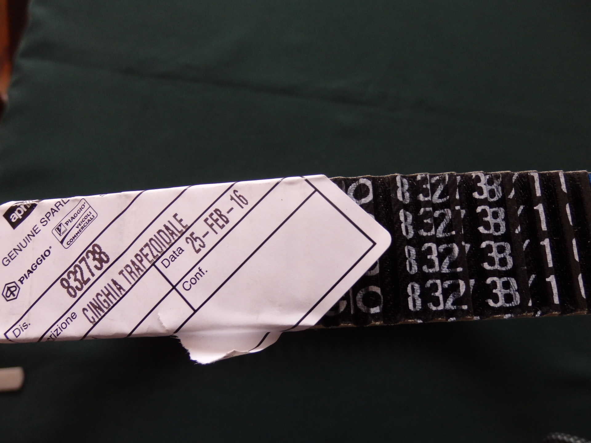 APRILIA ATLANTIC ÉKSZÍJ 28x1036 ATLANTIC SPRINT 400-500 (05-07) - 25300 Ft