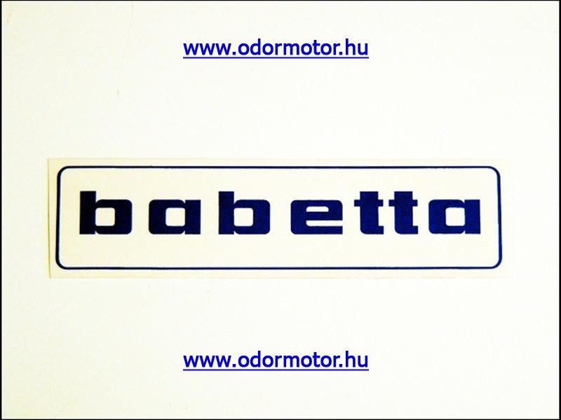 BABETTA UNIVERZÁLIS MATRICA BENZINTANKRA BABETTA /KÉK/ - 90 Ft