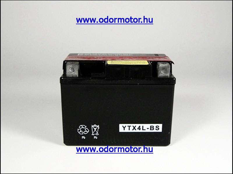 HONDA AKKUMULÁTOR SRX Shadow 50 YTX4L-BS - 5000 Ft