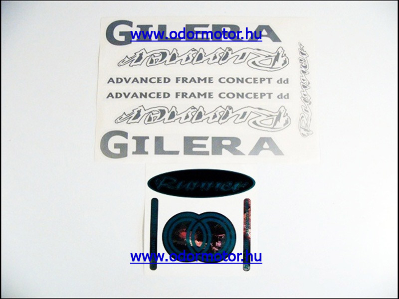 GILERA RUNNER MATRICA KÉSZLET RUNNER /EZÜST/ - 4790 Ft