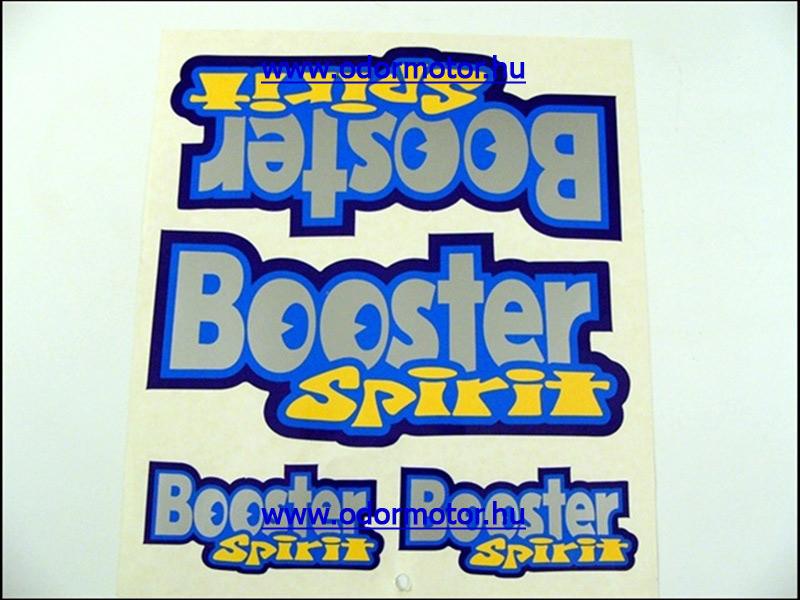 MBK BOOSTER MATRICA KÉSZLET BOOSTER SPIRIT - 2290 Ft