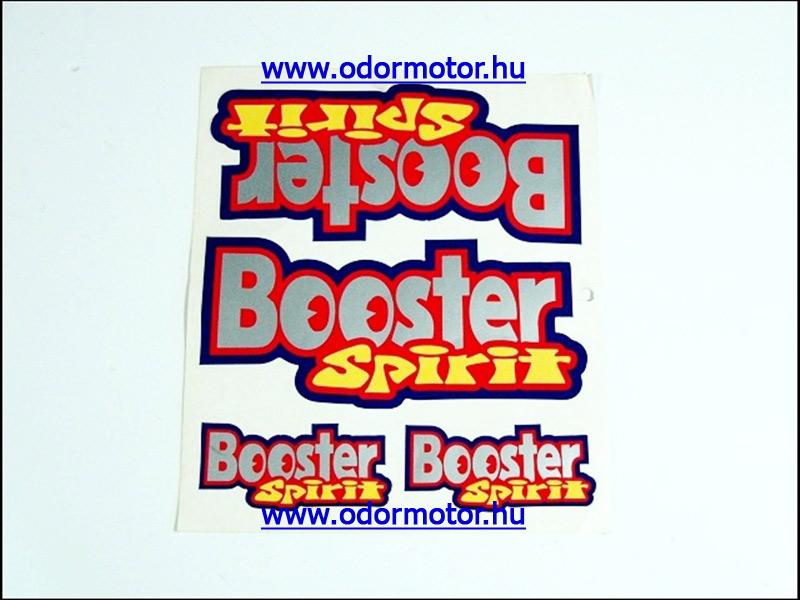 MBK BOOSTER MATRICA KÉSZLET BOOSTER SPIRIT /PIROS/ - 2290 Ft