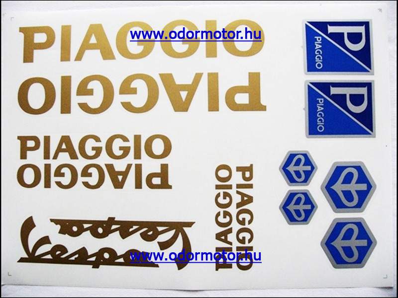 PIAGGIO UNIVERZÁLIS MATRICA KÉSZLET PIAGGIO ARANY - 1190 Ft